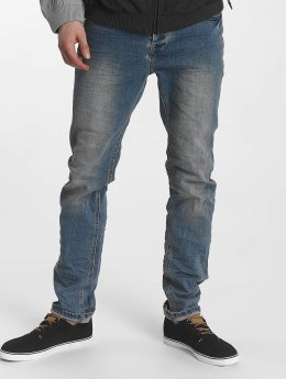 Sublevel Straight Fit Jeans 5 Pocket blau