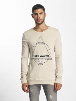 Sublevel Sweat & Pull High Waves beige