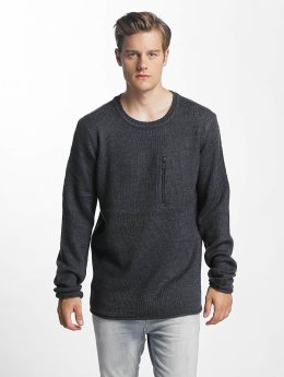 Sublevel Sweat & Pull Knit bleu