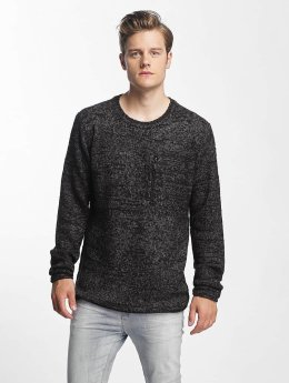 Sublevel Sweat & Pull Knit noir