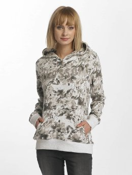 Sublevel Sweat capuche Allover Print gris
