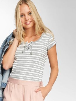 Sublevel T-paidat Stripes harmaa