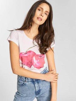 Sublevel T-paidat Cherry purpuranpunainen