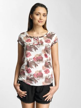 Sublevel T-Shirt Roses blanc