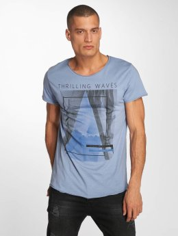 Sublevel t-shirt Beachlife blauw