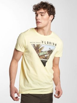 Sublevel t-shirt South Beach geel