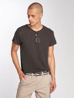 Sublevel T-Shirt Ripp grau