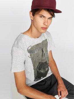 Sublevel T-Shirt Survival grey