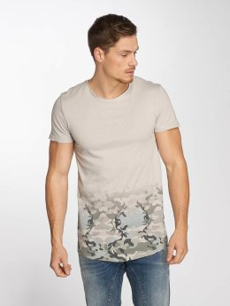 Sublevel t-shirt Deep Camo grijs