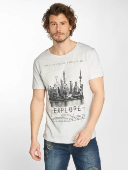Sublevel t-shirt Metro grijs