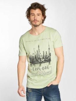 Sublevel t-shirt Metro groen