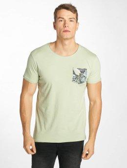 Sublevel T-Shirt Palms grün