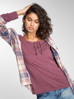 Sublevel T-Shirt manches longues Mila pourpre