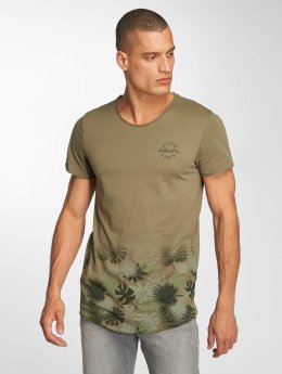 Sublevel t-shirt Tropic olijfgroen