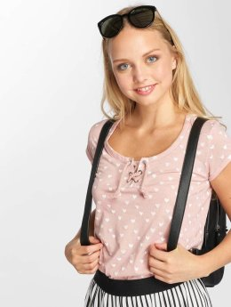 Sublevel T-Shirt Hearts rosa