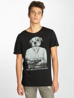 Sublevel T-Shirt Business schwarz