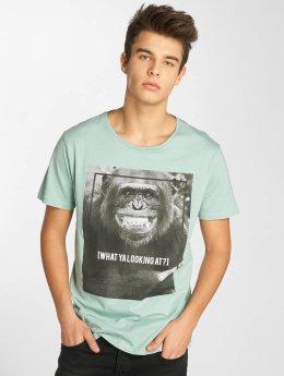 Sublevel T-Shirt What Ya turquoise