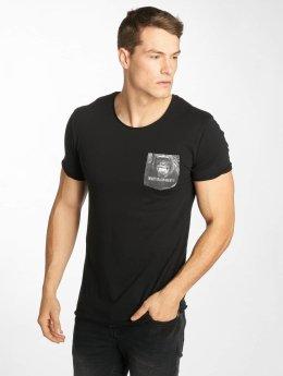 Sublevel t-shirt Palms zwart
