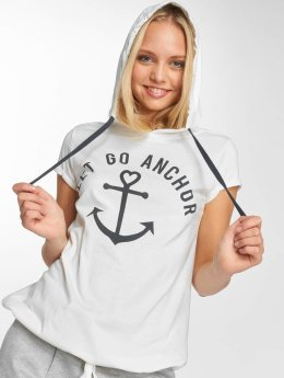 Sublevel T-shirts Hooded hvid
