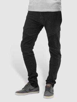 Sublevel Tynne bukser Skinny Biker grå