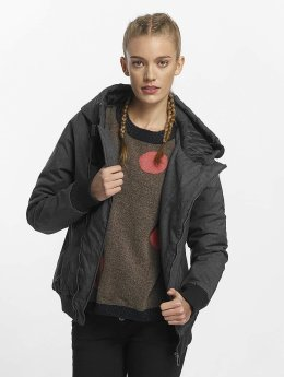 Sublevel Winter Jacket Asymmetric black