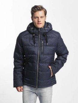 Sublevel winterjas Quilt blauw