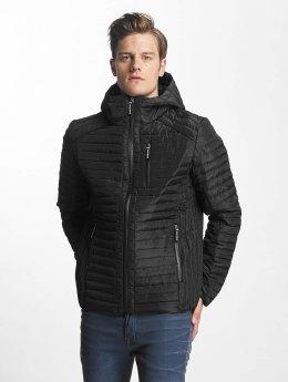 Sublevel winterjas Quilt zwart