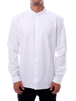 Suit Hemd NOOS Oxford-Mandarin weiß