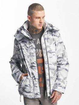 Superdry Демисезонная куртка Technical Print Pop камуфляж