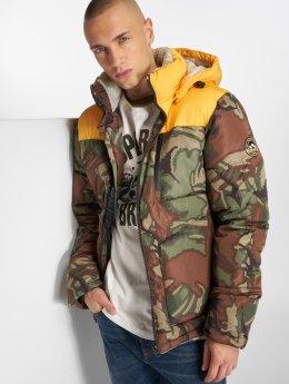 Superdry Зимняя куртка Expedition Coat камуфляж