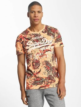 Superdry Shop AOP T-Shirt Dry Tangerine
