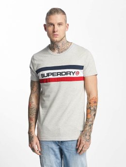 Superdry Футболка Trophy Chest Band серый