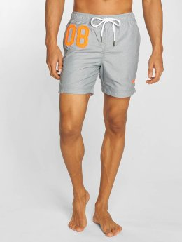 Superdry Badeshorts Waterpolo grau
