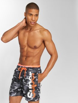 Superdry Badeshorts State Volley grau