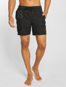 Superdry Badeshorts Waterpolo schwarz