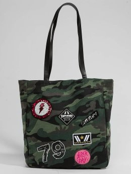 Superdry Shopper Bag Patched Camouflage
