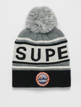 Superdry Berretto di lana Oslo Racer grigio