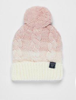 Superdry Berretto di lana Clarrie rosa chiaro