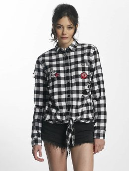 Superdry Blouse Zephyr Check wit