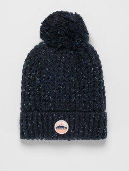 Superdry Bonnet hiver Clarrie bleu