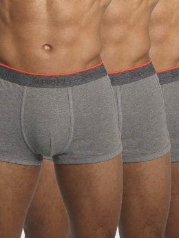 Superdry Boxershorts Orange Label Triple Pack grau