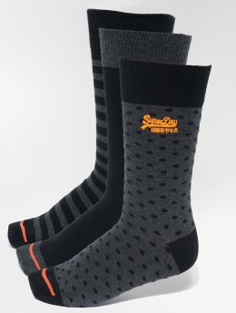 Superdry Calcetines City Triple gris