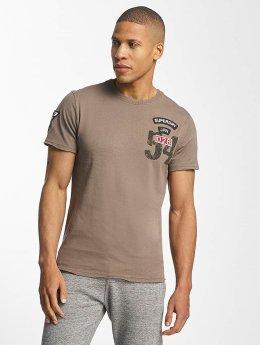 Superdry Camiseta World Tour marrón
