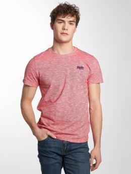 Superdry Orange Label Vintage Embroidered T-Shirt Beach Red Feeder Stripe