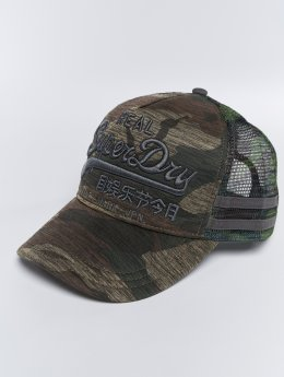 Superdry Casquette Trucker mesh Vintage Logo Edition camouflage