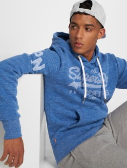 Superdry Hoodie Premium Goods blue