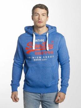 Superdry Hoody Premium Goods Duo blau