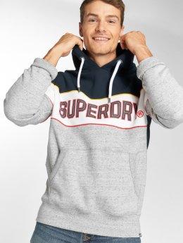 Superdry Hoody Retro Stripe blauw