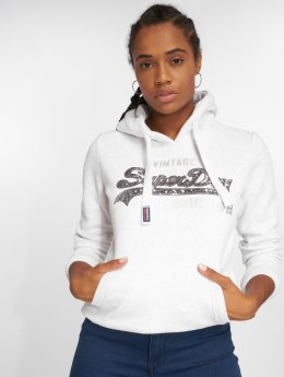 Superdry Hoody Shop Sequin Entry grijs