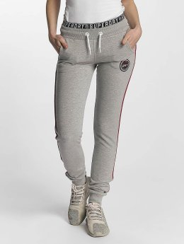 Superdry joggingbroek Big Spin grijs